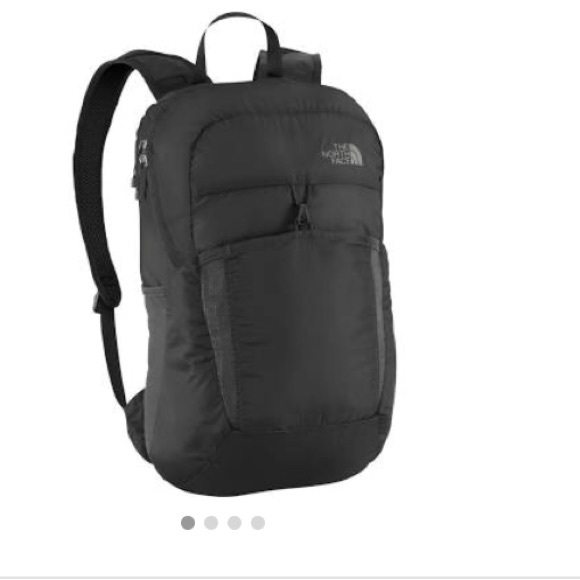 3217d4555 The North Face flyweight backpack grey OS NWT